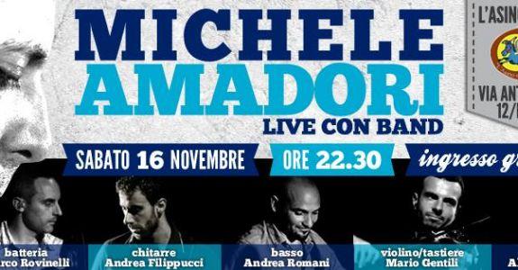 16 Novembre 2013 con Michele Amadori in Concerto @ l'Asino che Vola – Roma